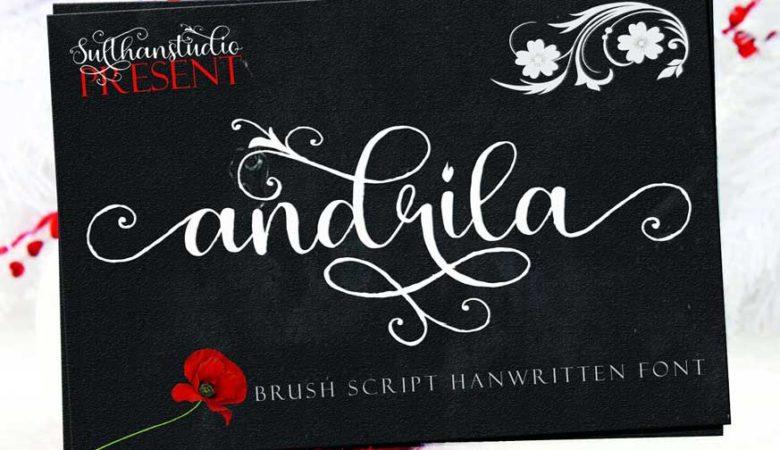 Andrila Font