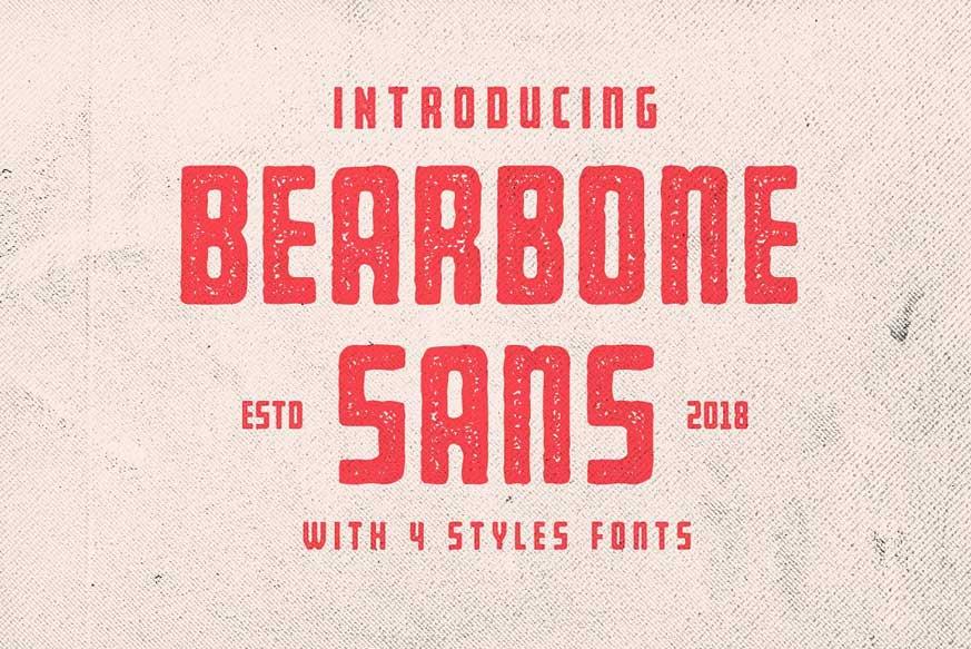 Bearbone Sans