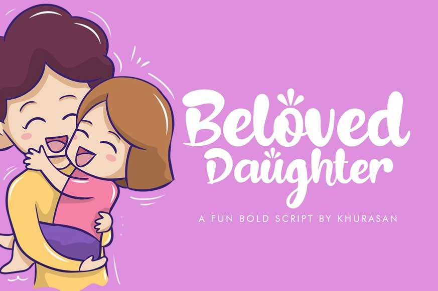 Beloved Daughter Font