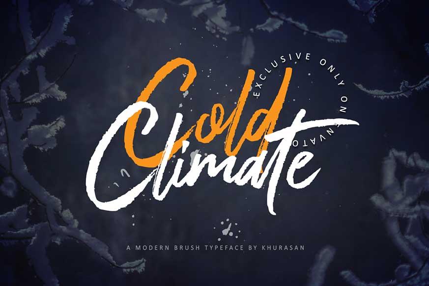 Cold Climate Font