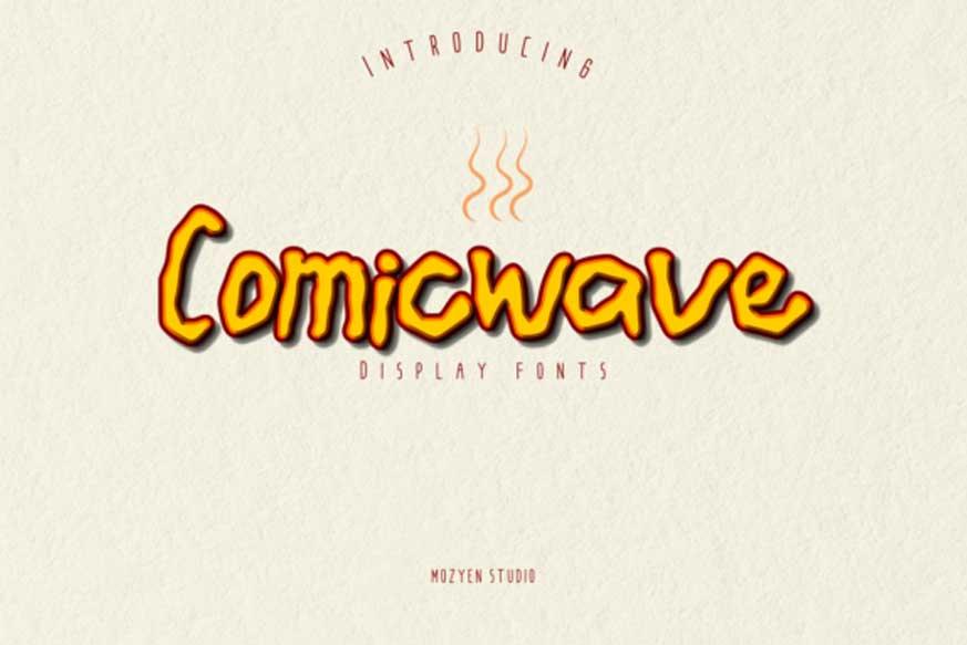 Comicwave Font