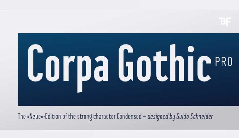Corpa Gothic™ Pro Font