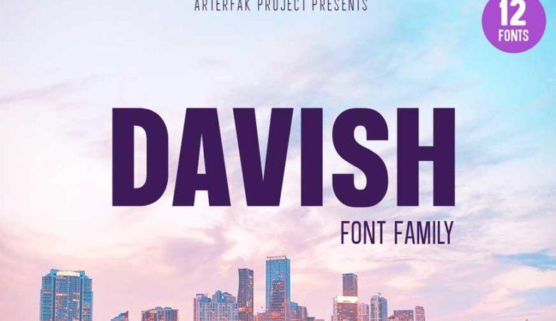 Davish Font Family