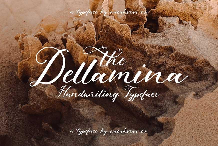 Dellamina Script
