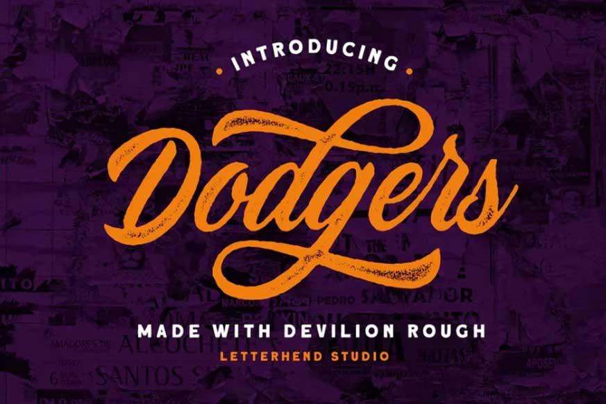 Devilion Rough Font
