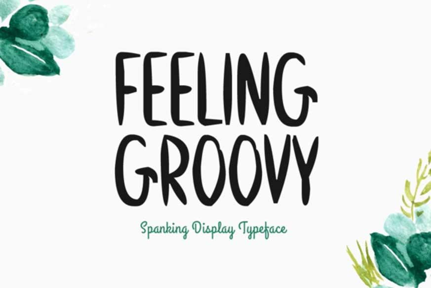 Feeling Groovy Font