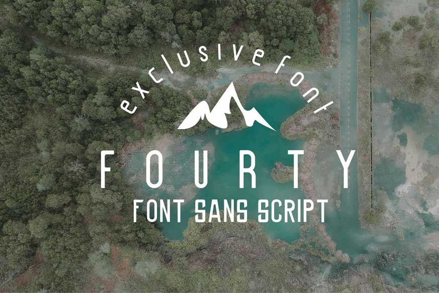 Fourty Font