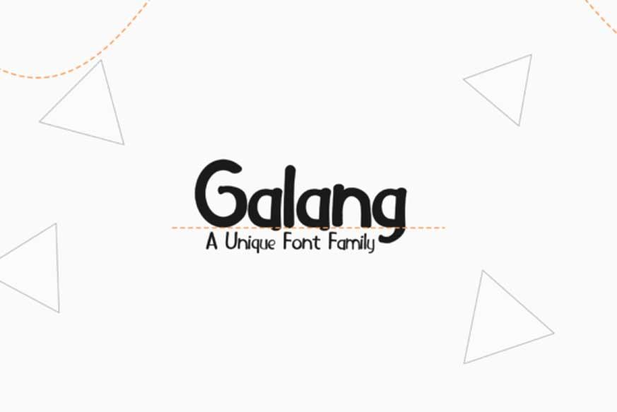 Galang Font