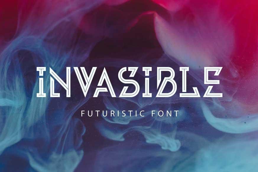 Invasible Font