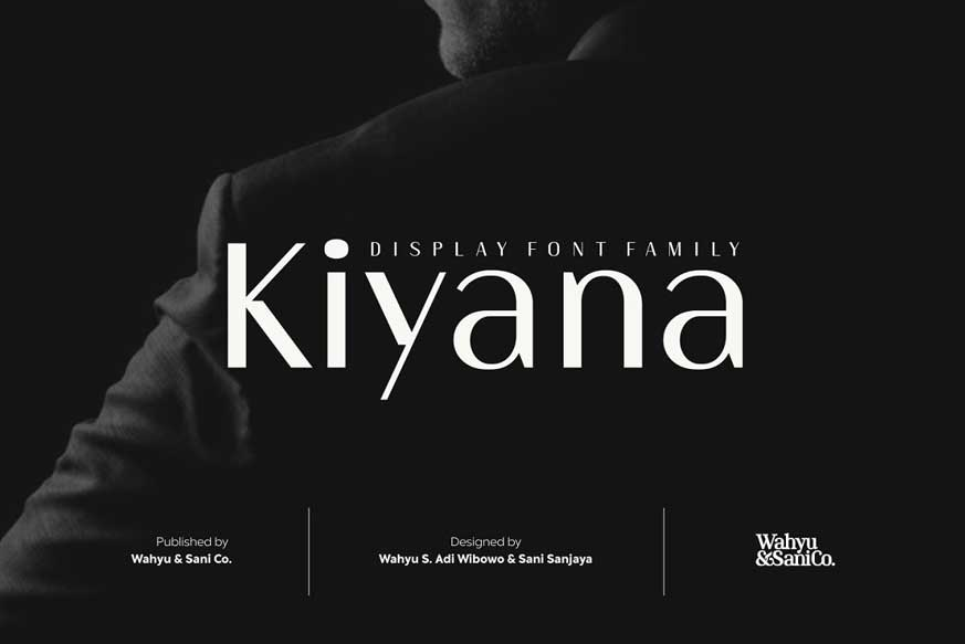 Kiyana | Display Sans Font Family