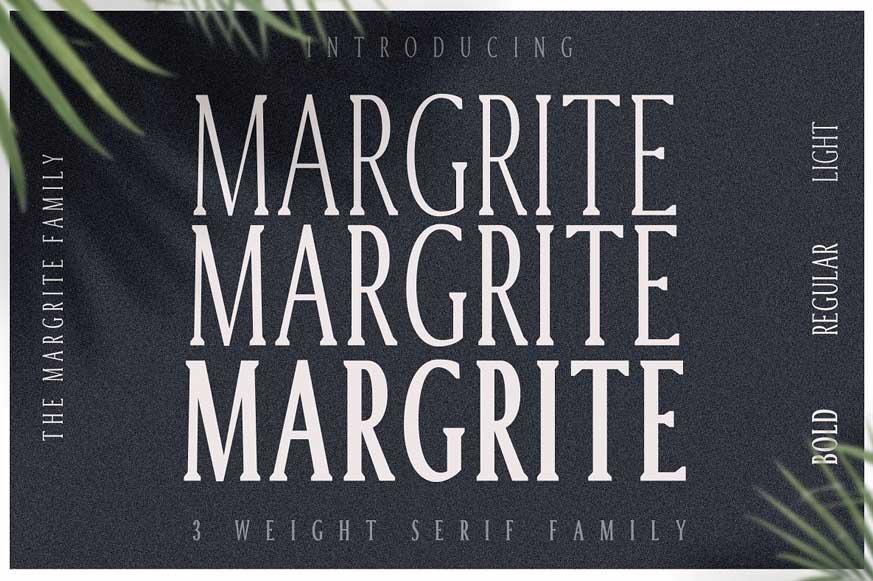 Margrite - Tall Serif Font Family