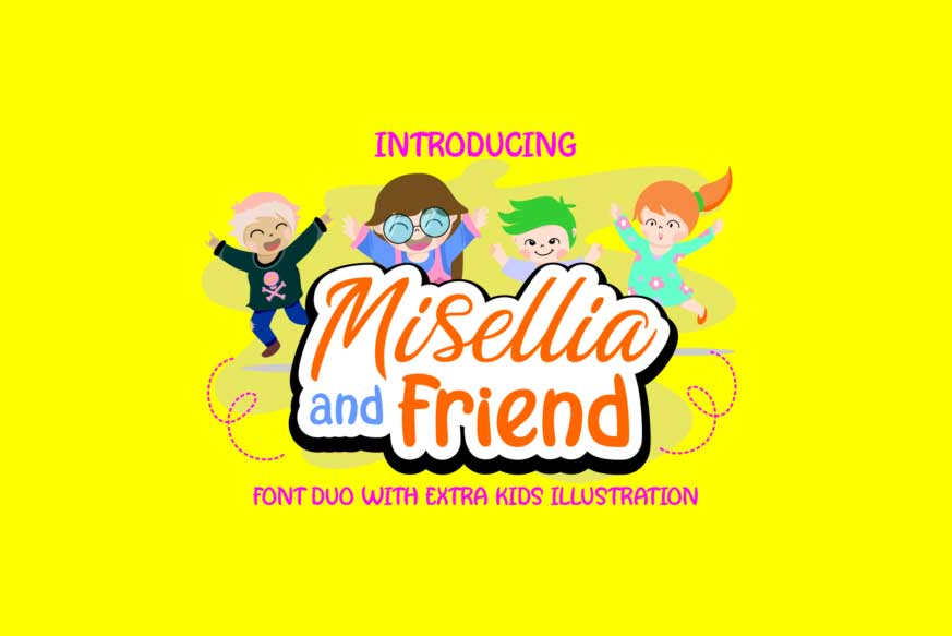 Misellia and Friend Duo Font