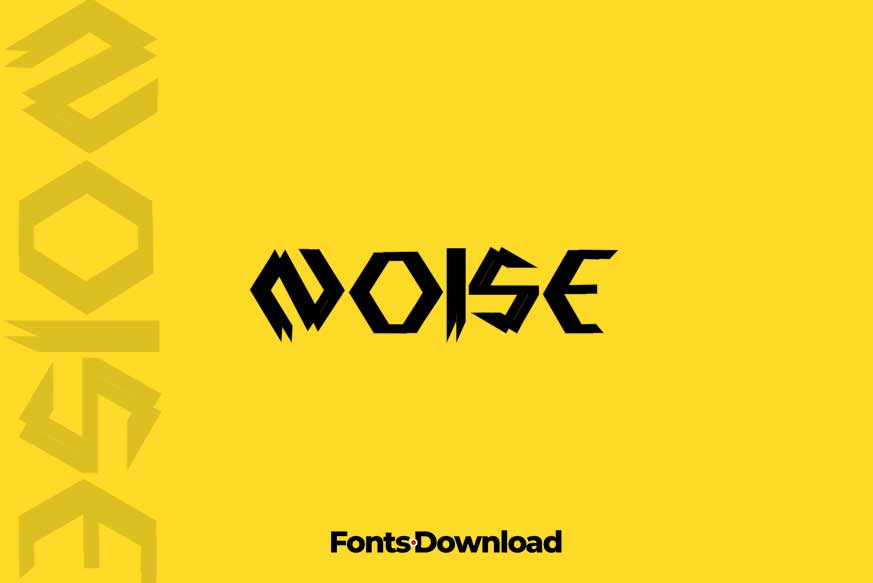 Noise - Display Font