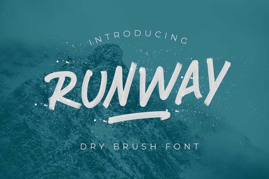 RUNWAY BRUSH