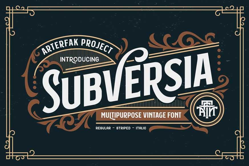 Subversia Font