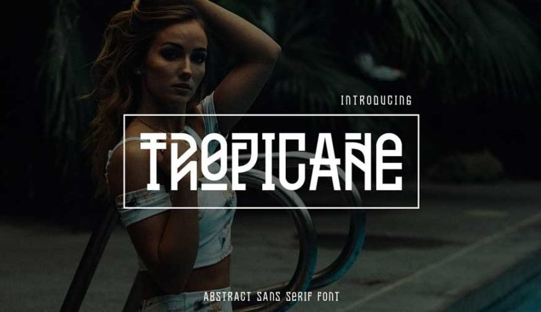 Tropicane Typeface