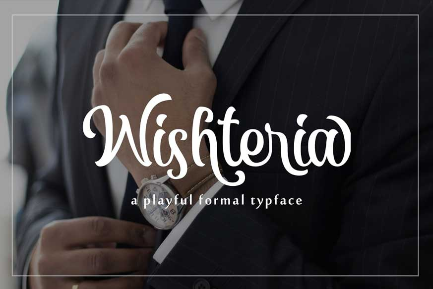 Wishteria Font