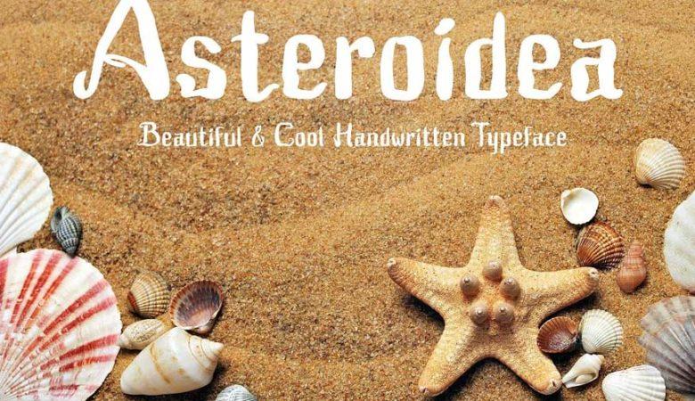 Asteroidea Font