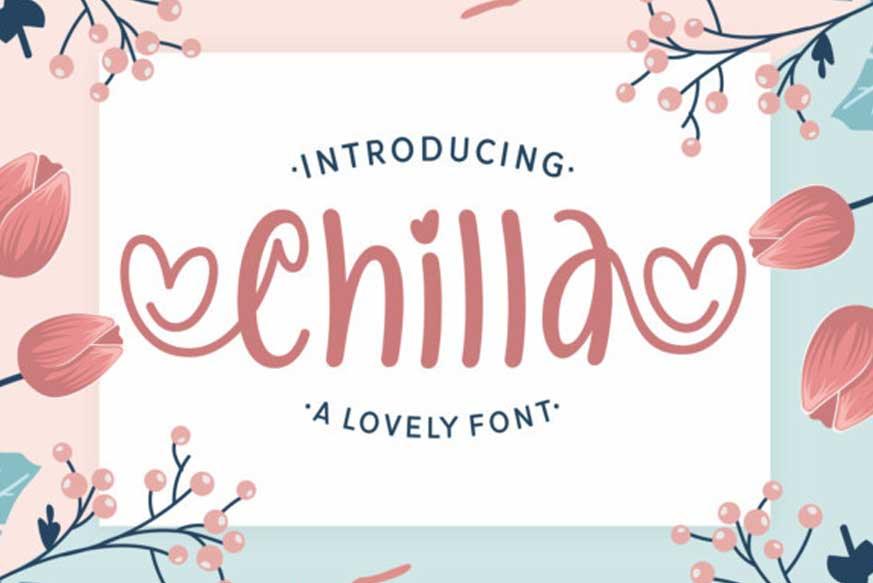 Chilla Font
