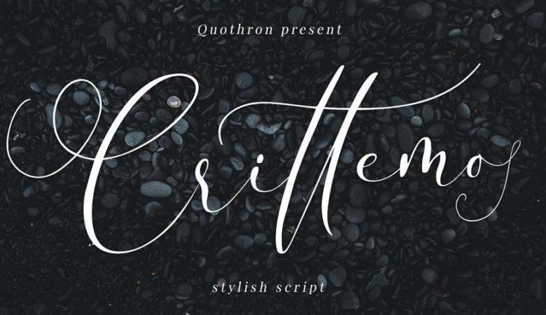 Crittemo - Stylish Script