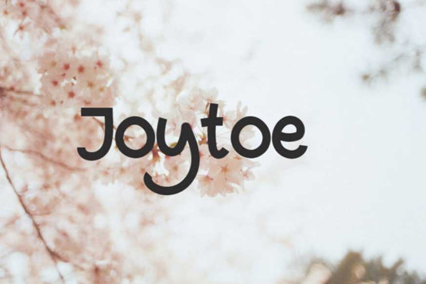 Joytoe Font