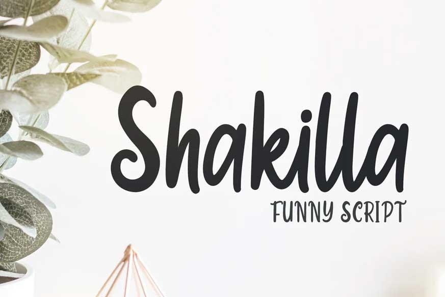 Shakilla Funny Script