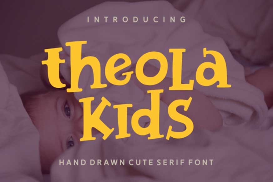 Theola Kids Font