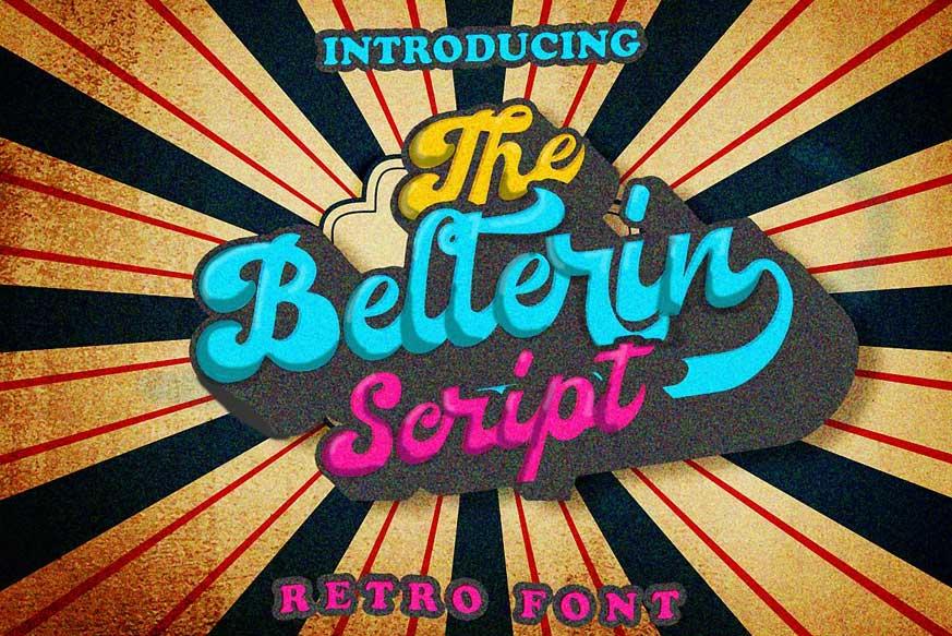 Bellerin Script Font
