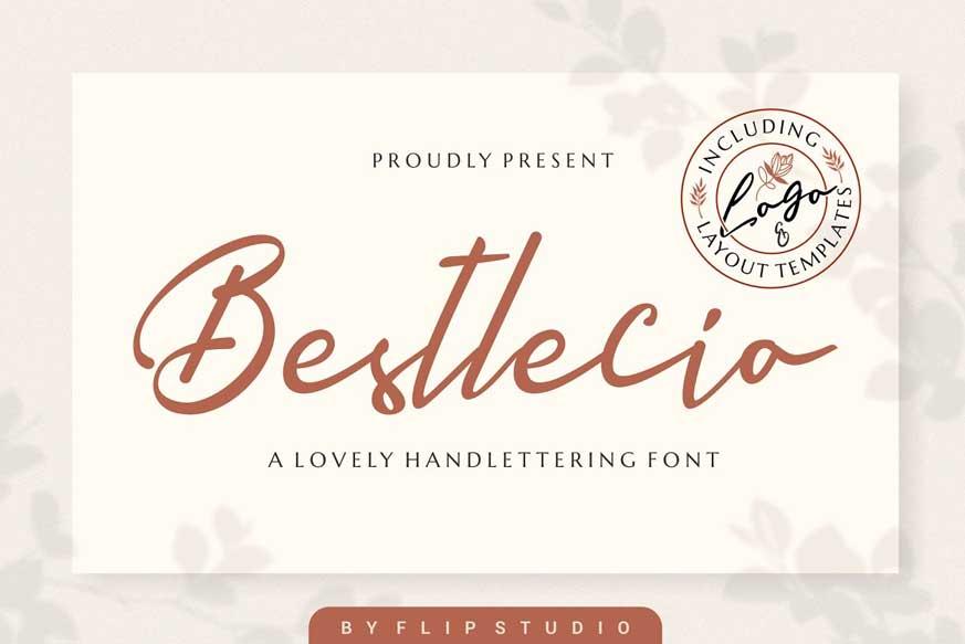 Bestlecio | Handwriting Font