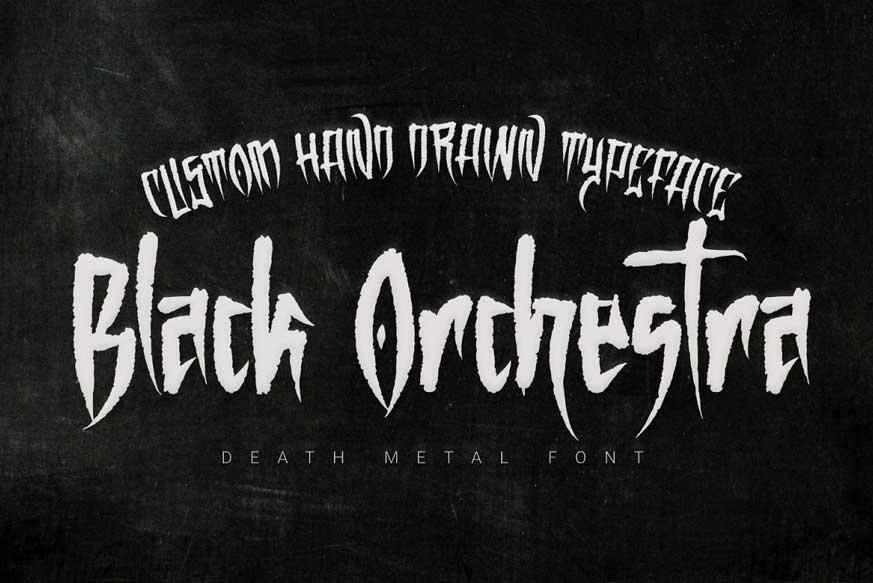 Black Orchestra Font