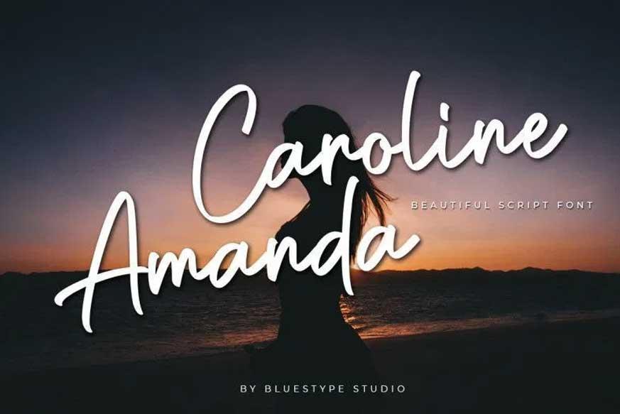 Caroline Amanda Font