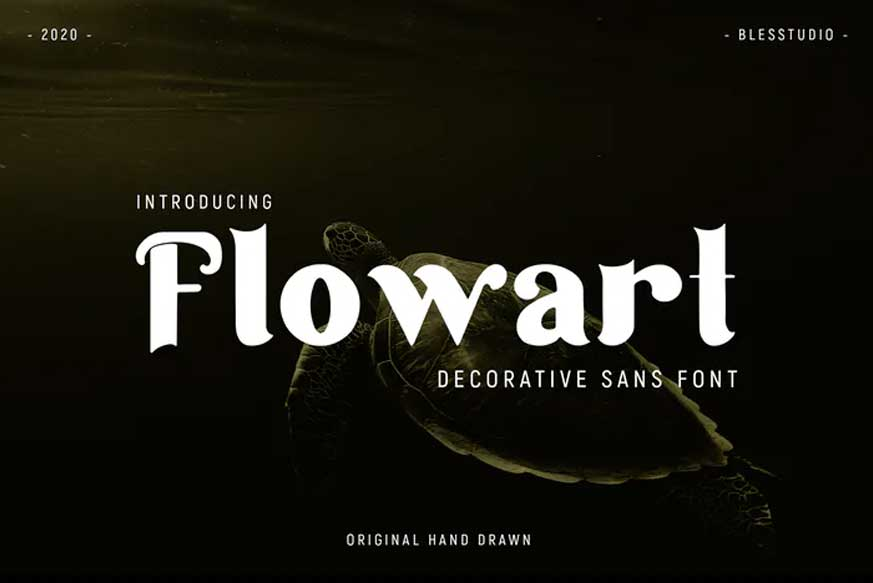 Flowart Font