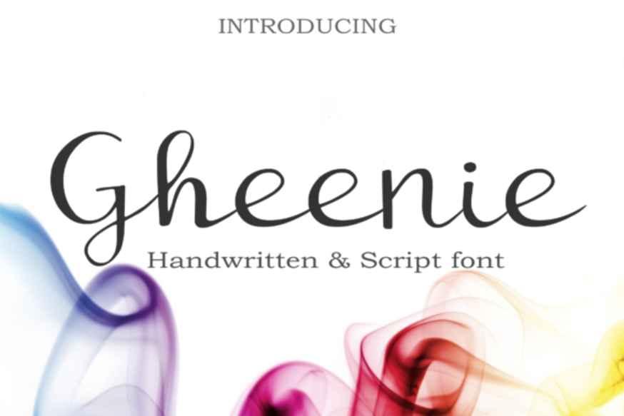 Gheenie Font
