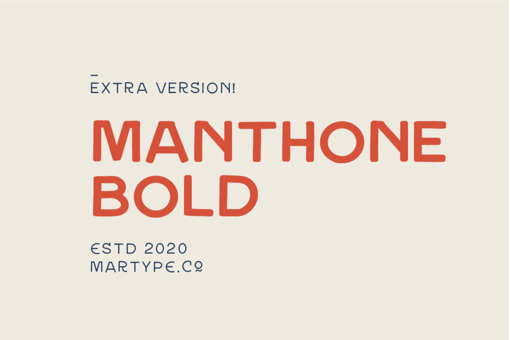 Manthone Bold