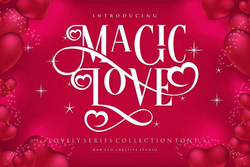Magic Love Font