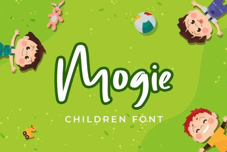 Mogie Childern Font
