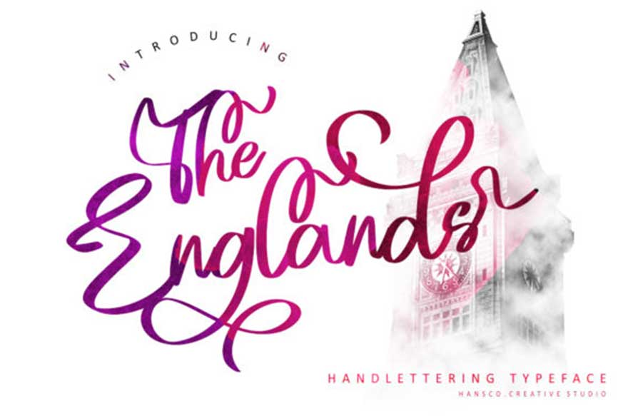 The Englands Font
