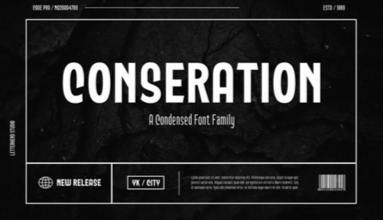 Conseration Font Family