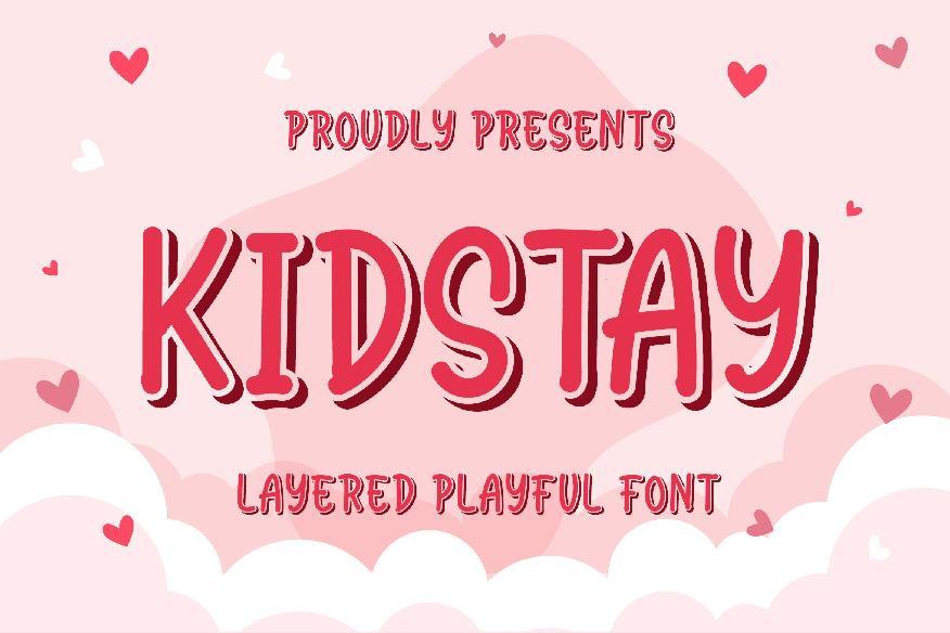 Kidstay Font