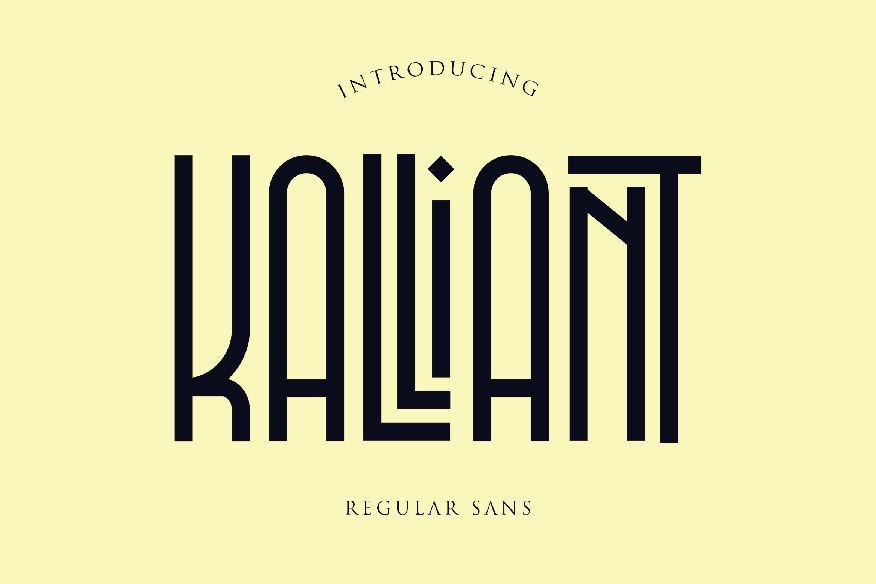 Kalliant Font
