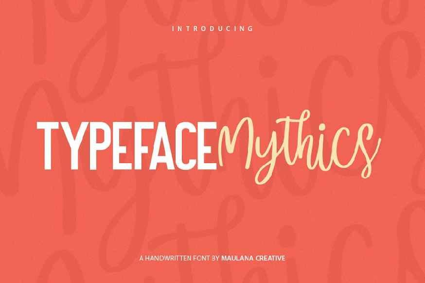 Mysthics - Font Duo Script Sans Type
