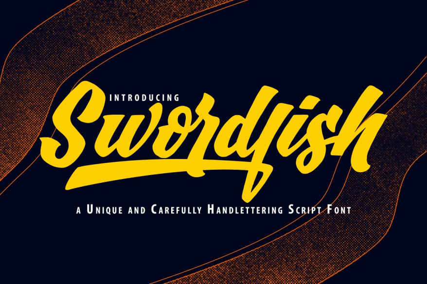 SwordFish Unique Handlettering