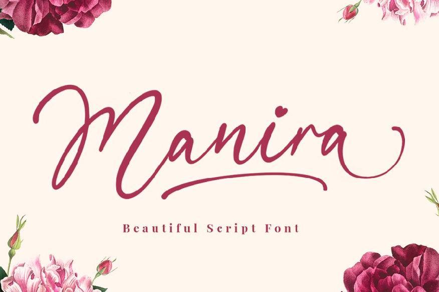 Manira Script