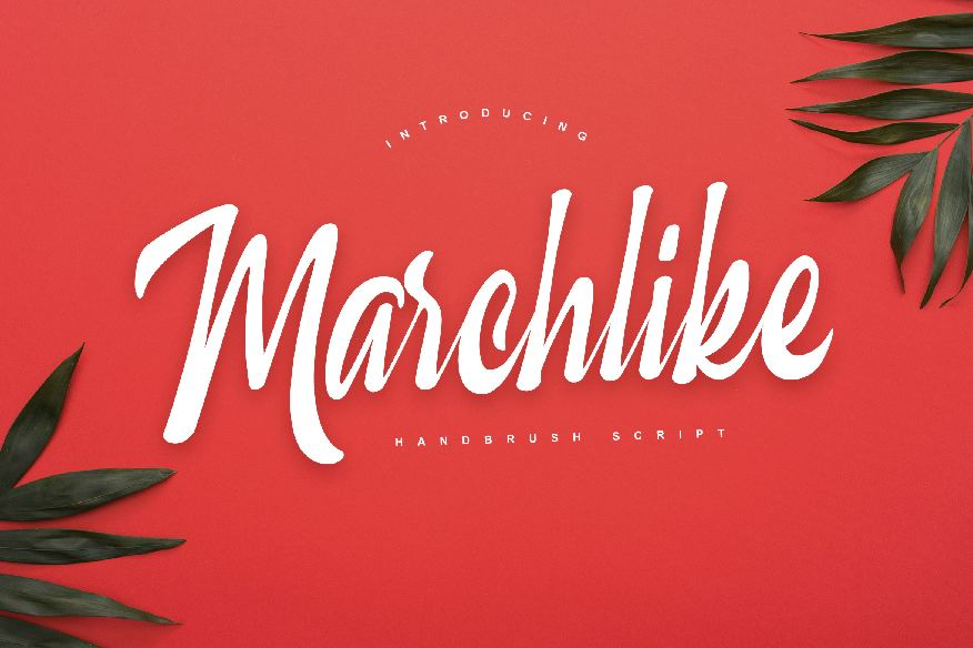 Marchlike Font