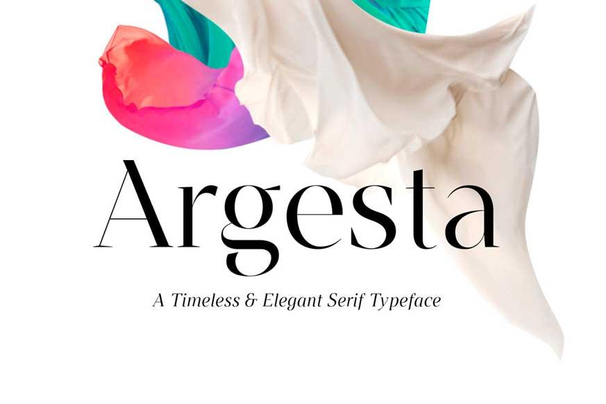 Argesta Font Family