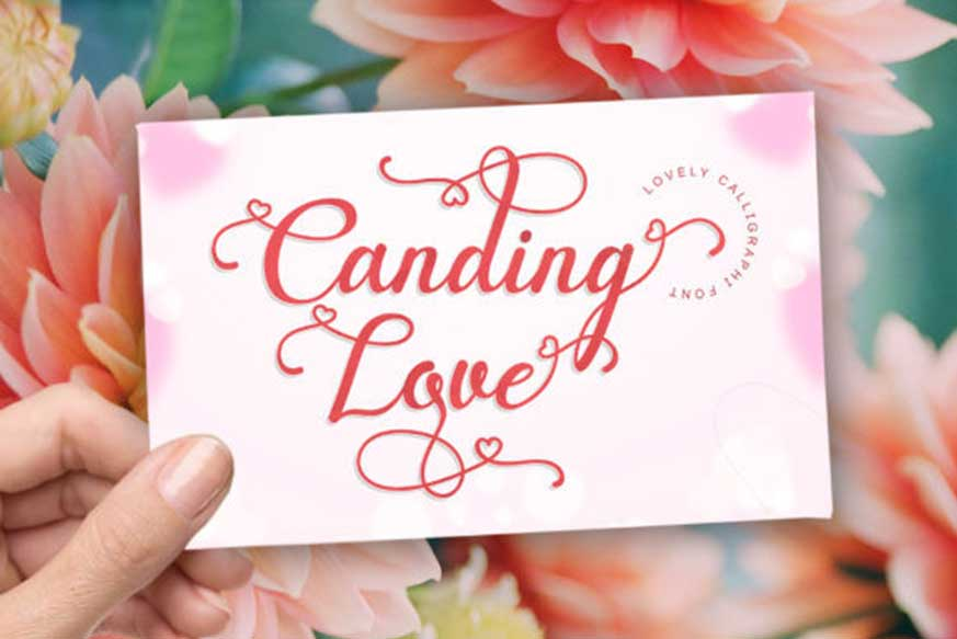 Canding Love Font