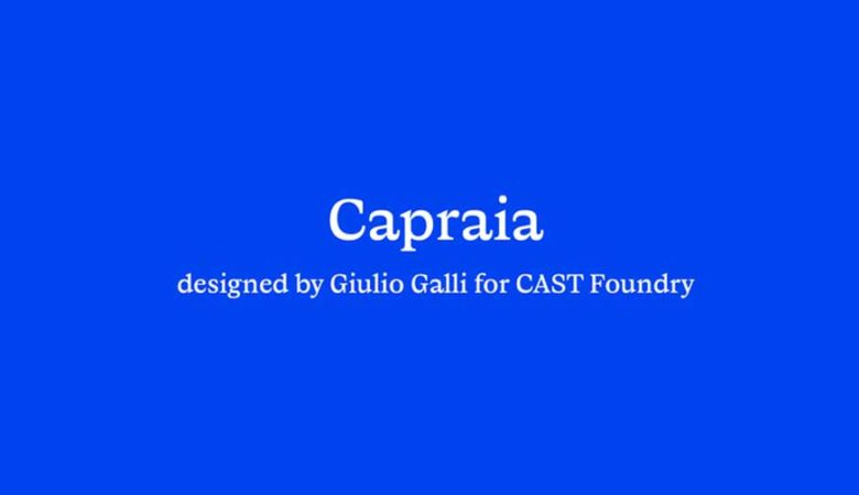 Capraia Font Family
