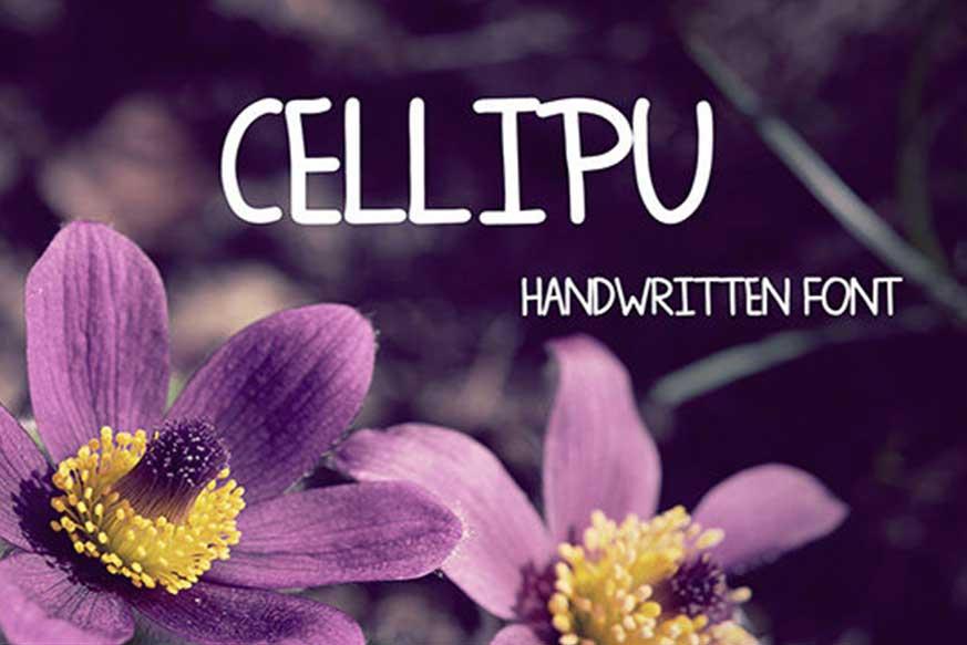 Cellipu Font