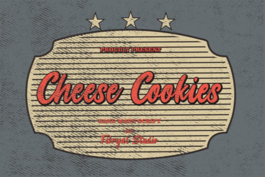 Cheese Cookies Font