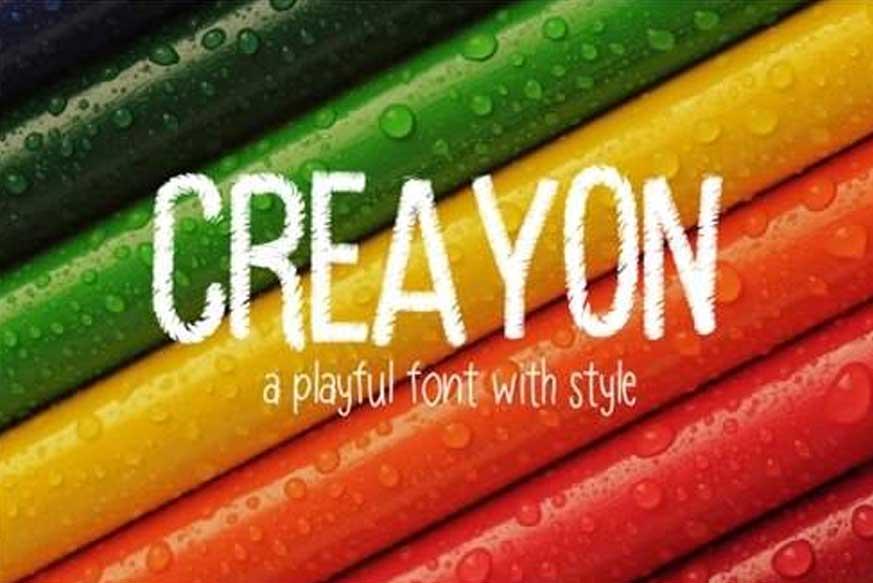 Creayon Font
